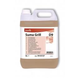 Diversey Suma Grill D9 Ağır Yağ Çözücü Fırın Temizleme Maddesi 5 L