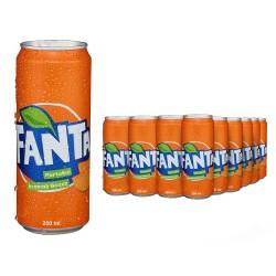Fanta Slim 250 ml x 24 Adet