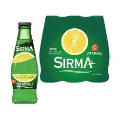 Sırma C-Plus Maden Suyu Limon Aromalı Cam Şişe 200 ml x 6 Adet