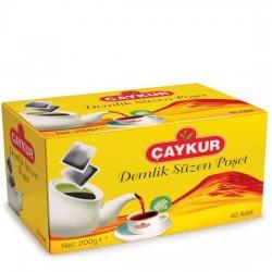 Çaykur Demlik Süzen Poşet Çay 200gr
